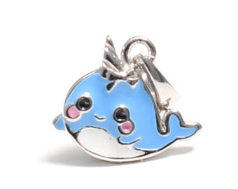 Narwhal (Unicorn of the sea) 925 sterling silver