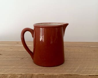 Small Vintage Guernsey Cooking Ware Pitcher