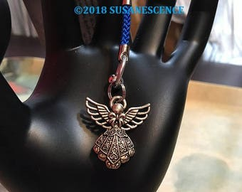 Dangling Angel,Bling for your Handbag,Guardian Angel for her,Keychain Angel,Dangling Guardian Angel,Women Gift,Girls Gift,Mother's Day Gift