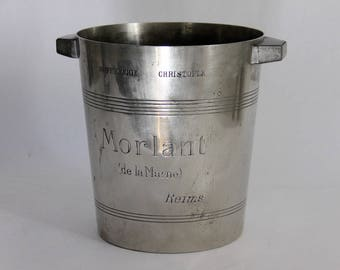 Antique Christofle French Champagne Bucket France, Morlant, Cooler