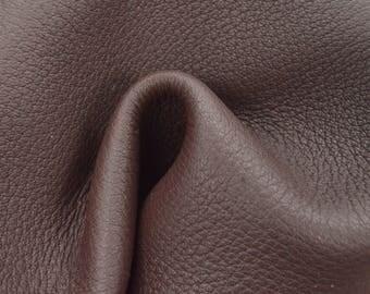 """Playful Otter Leather New Zealand Deer Hide 12"""" x 12"""" Pre-cut 4 ounces TA-57796 (Sec. 5,Shelf 7,A)"""