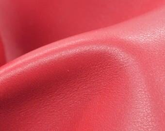 "Americana Red Leather Cow Hide 4"" x 6"" Pre-cut 3 1/2 oz TA-59751 (Sec. 3,Shelf 5,B,Box 4)"