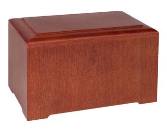 Cherry Marquis Wood Cremation Urn