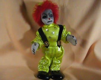 Scary Clown, Haunted Clown, Horror Clown Doll, Evil Clown, Creepy Clown, Haunted House Clown, OOAK