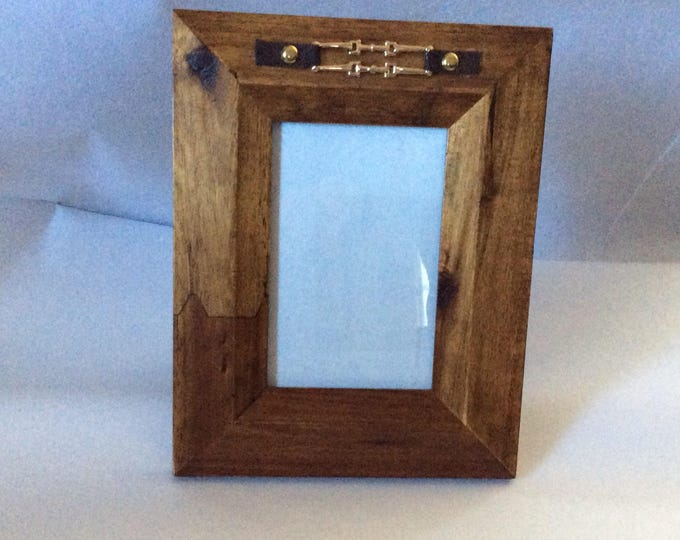 Equestrian Horse Bit Picture Frame Gift