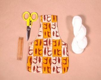 Small Knitting Project Bag - Yarn Bag Organiser - Project Bag for Crochet or Knitting Small - Gifts for Knitters