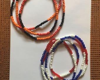 Colorful Seed Necklaces