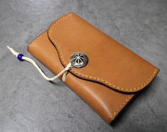 Handstitched Card Holder *Genuine Leather*