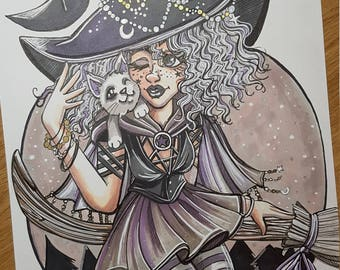 Inktober 2017 day 31 - 'Witchsona'
