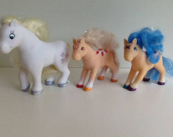 1990s LANARD Ponies (Knockoff/Fakie My Little Pony) Lot