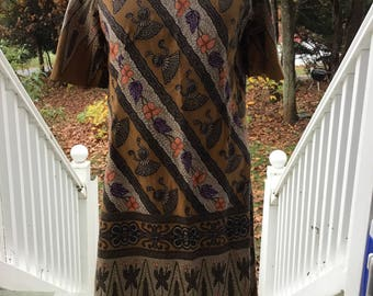 Sale! Wonderful Hippie Tunic Dress Handmade 70s To Die For Small 2 4 6