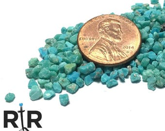 Sleeping Beauty Turquoise - Extra Large Sand - 100% Natural Without Fillers