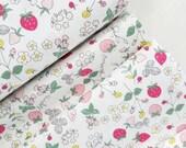 Serendipity - Strawberries (Cream) - Minki Kim - Riley Blake Designs