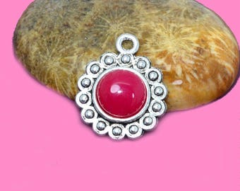 Support cabochon 08mm silver