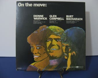 Chevrolet Special - On The Move - Dionne Warwick - Glen Campbell - Burt Bacharach - Circa 1969