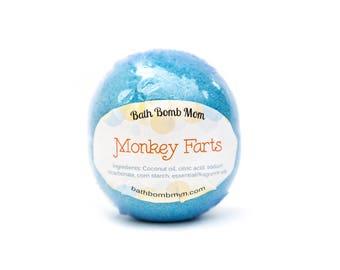 Monkey Farts Bath Bomb