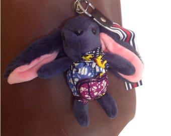 African Rabbit Keychain