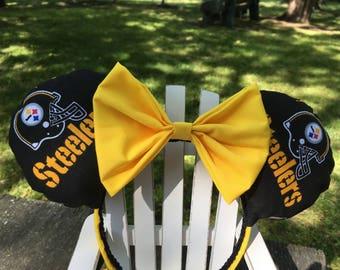 Ready to Ship SteelersMickey Ears