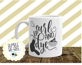 Hairdresser coffee Mug hairdresser gift stylist coffee mug stylist gift gift for her hairdresser stylist coffee cup coffee mug