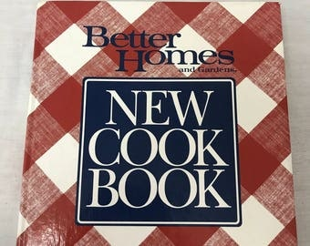 Better Homes and Gardens New cook Book, 1990 Edition, Bound Hardback