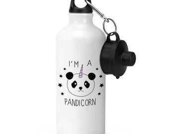 I'm A Pandicorn Unicorn Sports Bottle