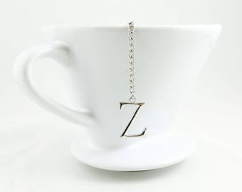 "Letter ""Z"" Loose Tea Infuser Tea Strainer Mesh Loose Leaf Tea"