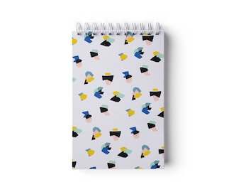 """Reporter - Candy Notebook  – Spiral binding – 4"""" x 6"""" – Ruled pages"""