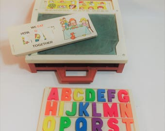 Vintage Fisher Price School Days Desk, 1972