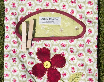 Clothespin Tidy, Clothes-peg Tidy, Clothespin Bag, Clothespeg Bag, Clothes Peg Bag, Clothes pin Tidy, Clothes peg Tidy, Clothes pin Bag