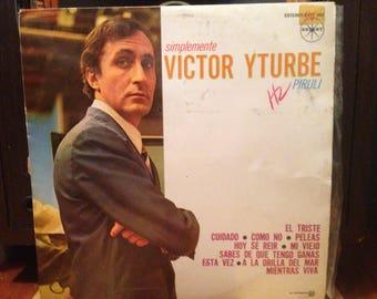 "Victor Yturbe ""Pirulí"" (Mexican pressing) - Simplemente - Vinyl"