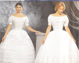 Simplicity 9764 Misses' Crinoline and Petticoat Sewing Pattern