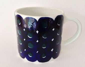 A Very Large Vintage Arabia Mug Designed by Gunvor Olin Gronqvist