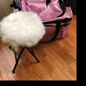 Saddle Stool Seat Cushion W Ties Rectangular Or Square