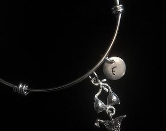 Bikini Bracelet, Swimsuit Bracelet, Sun Bracelet, Adjustable Bracelet, Stainless Steel Bracelet, Initial Bracelet, qb160