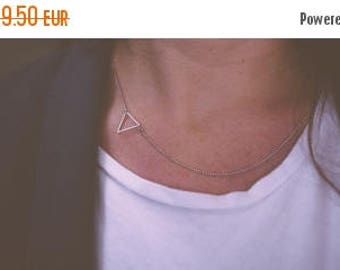 On Sale Small triangle necklace | Gold plated & Silver plated