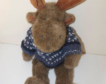"Boyds Moose 16"" Stuffed Plush Animal 1995 from The Boyds Collection Ltd."