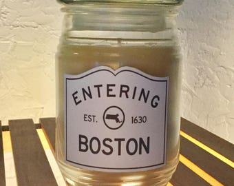 Boston Scented Candle