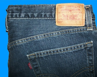 Levis 529 Low Straight 38 W x 32 L  Made in USA