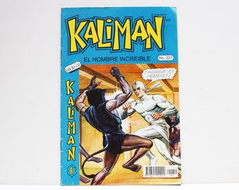 Kaliman El Hombre Increible No 227 La Bruja Blanca Revista en Español Comic Book in Spanish RARE