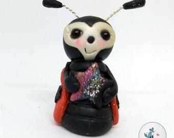 Polymer Clay Bug - LadyBug