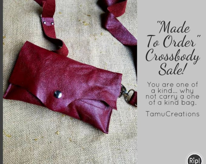 Cherry Red FannyPack and Crossbody