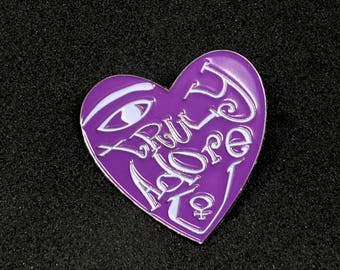 Prince Sign O' The Times Adore Soft Enamel Pin
