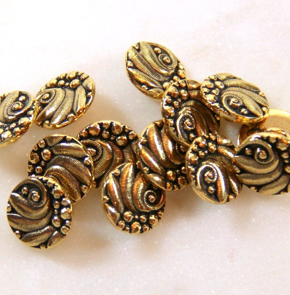 Tierracast czech buttons metal shank buttons leather for Buttons with shanks for jewelry