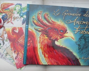 "fantasy book ""the fabulous animals grimoire"" Phoenix"