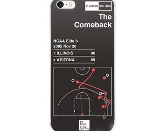 Illinois Basketball iPhone Case: The Comeback (2005)