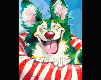 """Pet Portrait Giclee Print """"Mel"""""""
