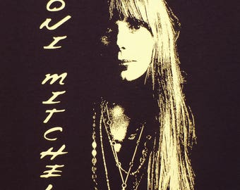 Joni Mitchell long sleeved t shirt You choose size in a message