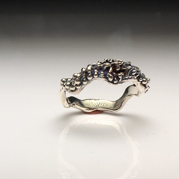 Silver Sea Life Ring