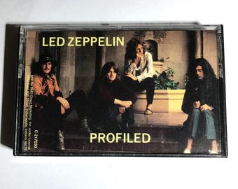 Led Zeppelin Profiled cassette tape 1990 Band Profile Interview