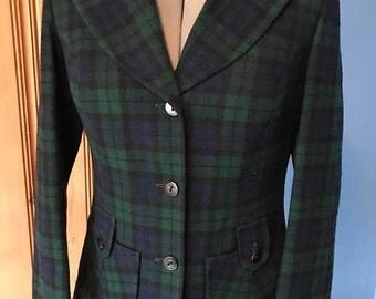 ON SALE Vintage Women's Pendleton Wool Blazer